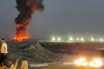 آتش سوزی بخش هایی از یک کارخانه بستنی سازی در جنوب تهران