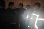 آتش سوزی شهر لبنیات اسلامشهر تلفات جانی نداشت