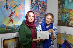 هنرمندان ایرانی در سومین نمایشگاه بین المللی «رنگ صلح»  درخشیدند