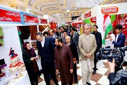 Iran-Afghanistan joint trade exhibition kicks off in Kabul