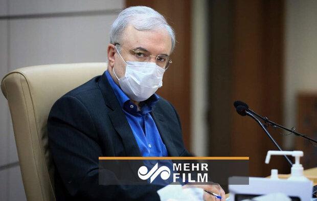 هدیه وزیر بهداشت به کادر درمان
