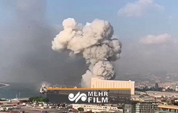 VIDEO: Explosion rocks in southern Lebanese village