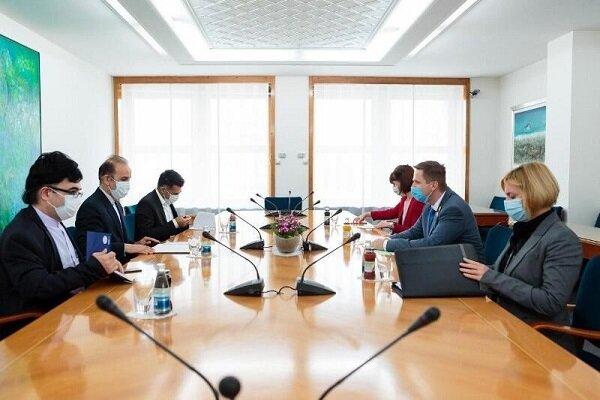 Iran, Slovenia stress boosting parliamentary coop.
