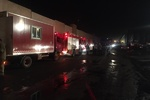 حادثه حریق شهر لبنیات اسلامشهر خسارت مالی سنگینی بر جا گذاشته است