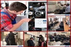 آموزش تعمیرات و نصب پکیج، کولر گازی و چیلر