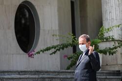 ایرانی کابینہ کے اجلاس کے بعد اراکین کی صحافیوں سے گفتکو