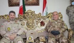 قائد قوات حرس الحدود الايراني يبحث مع الجانب العراقي سبل تعزيز التعاون الحدودي