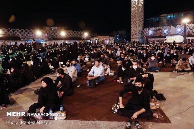 سفره حضرت رقیه(س) در میدان امام حسین(ع)