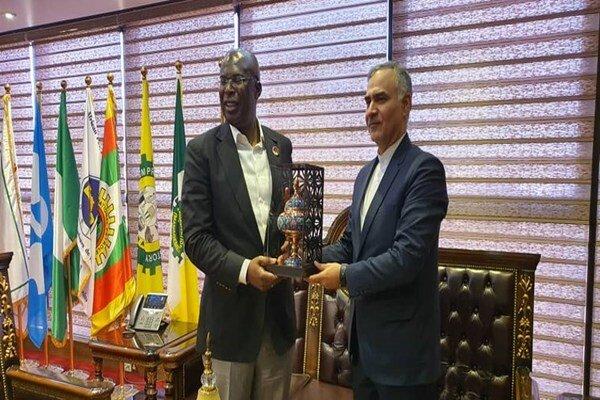 Iran, Nigeria discuss energy coop.