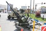 برگزاری نمایشگاه ادوات و مهمات جنگی طی هفته دفاع مقدس در ورامین