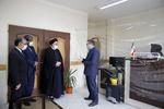 بازدید سرزده رئیس قوه قضائیه از مجتمع قضائی شهید قدوسی اردبیل