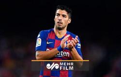 اشک ریختن سوارز در نشست خبری خداحافظی از بارسلونا