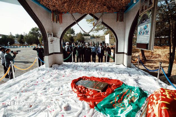 صبحگاه مشترک یگانهای نظامی مستقر در استان همدان