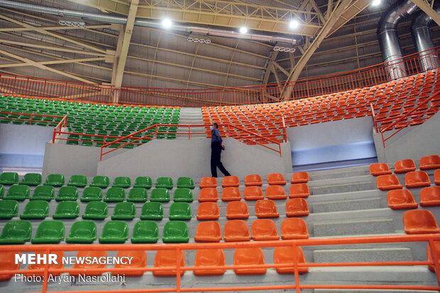 6,000-seat gym inaugurated in Sanandaj