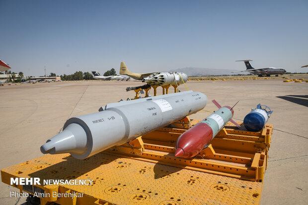 نمایشگاه توانمندی های نیروی هوایی ارتش در شیراز