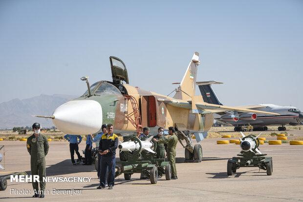Şiraz'da Hava Kuvvetleri güçlendirme sistemleri fuarı
