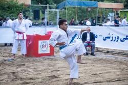 نخستین دوره استانی مسابقات مجازی کاراته در شیروان برگزار شد