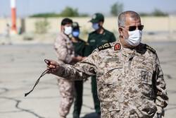 Devrim Muhafızları Komutanı İran-Azerbaycan sınırında