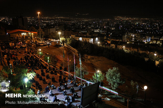 Mourning ceremony of martyrdom of Imam Hassan Mojtaba (PBUH)