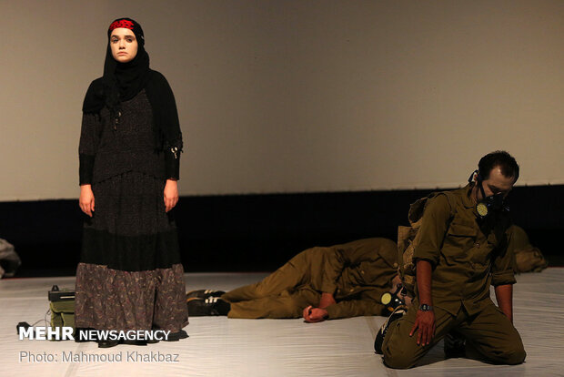 """Kish hosts performing Play 'Where Are Our Hands, Mamhasan"""""""