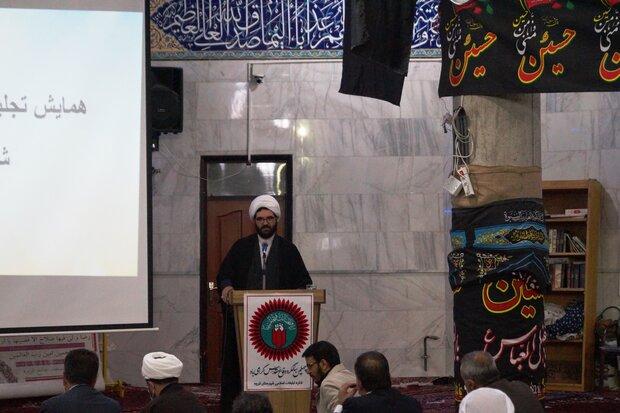 هیئت های مذهبی منتخب در قروه تجلیل شدند