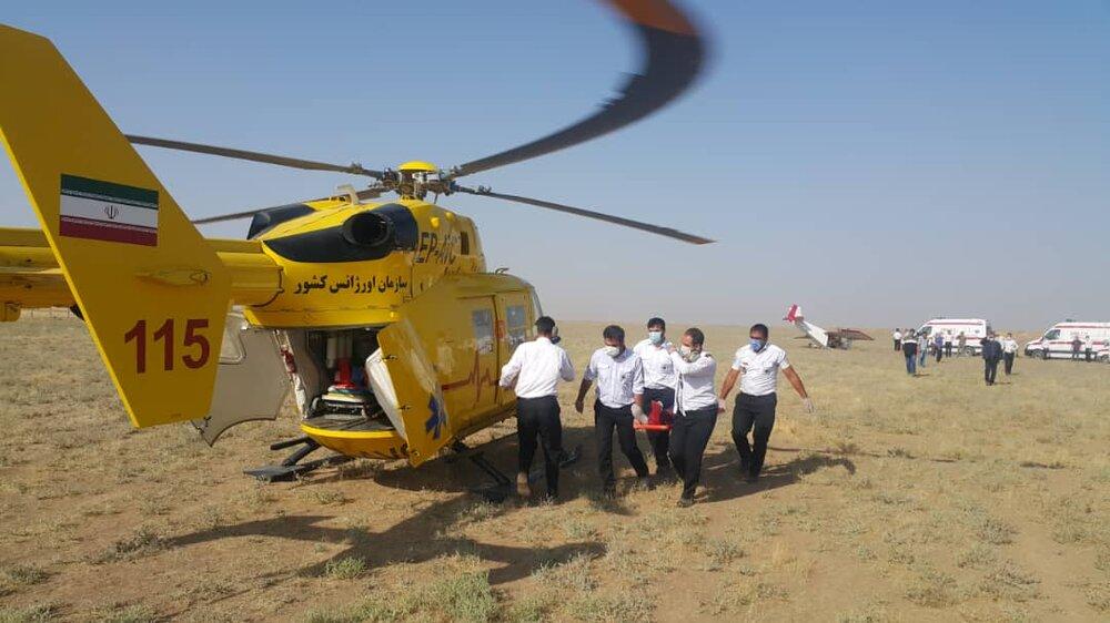 سقوط یک هواپیمای غیرنظامی در نظرآباد/ حادثه دو مصدوم داشت