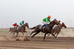 Horse racing competitions in N Iran