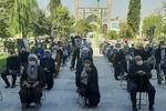 مراسم گرامیداشت رحلت آیت الله ممدوحی در کرمانشاه برگزار شد