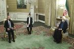 روحاني يلتقي وزير الخارجية العراقي