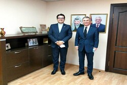 Iran envoy to Baku meets with Palestinian counterpart