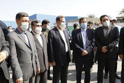 ایران کے نائب صدر کا بندر عباس کا دورہ