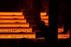 تولید فولاد خام ایران ۱۴ درصد رشد کرد