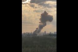 انفجاری مهیب در یک کارخانه در مسکو