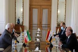 Zarif talks US assassination of Iran top general with Iraq FM