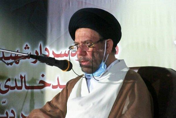 یادواره سردار شهید محمد خالدی و ۴۵ شهید شهر دیر برگزار شد