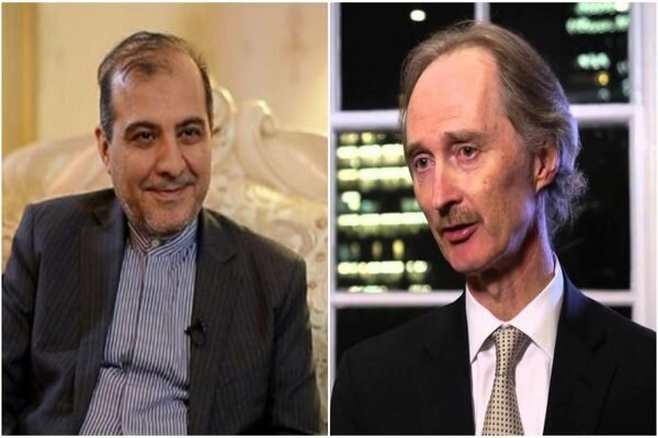 Khaji, Pedersen express concern over ISIL activities in Syria