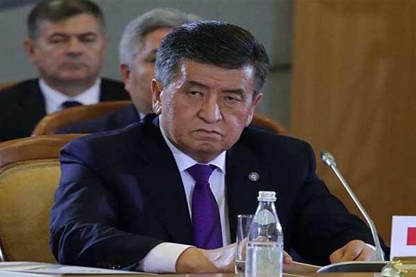 قرقیزستان کے صدر الیکشن میں دھاندلی کے الزامات کے بعد عہدہ سے مستعفی ہوگئے