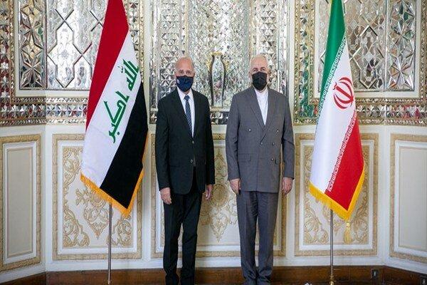 Iranian, Iraqi FMs hold meeting in Tehran