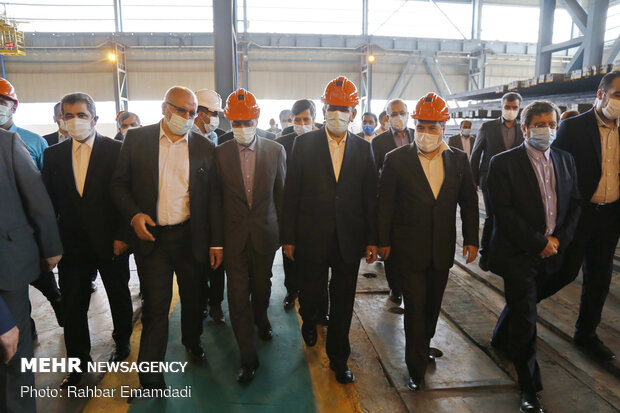 1st VP's visit to Bandar Abbas