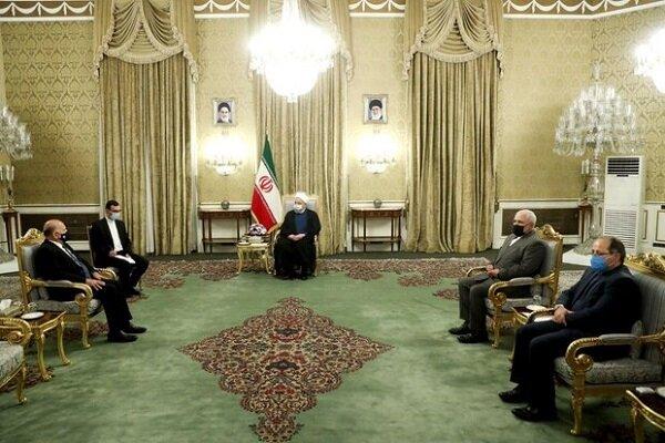 روحاني: الوجود العسكري الأمريكي لا يصب في مصلحة أمن واستقرار المنطقة