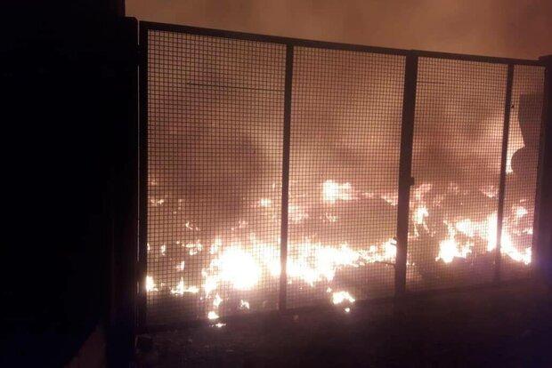 پرتاب مواد آتش زا در مقابل دادگاه انقلاب اسلامی شیراز