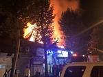 آتشسوزی در مغازه اگزوزسازی در اصفهان / انفجار در منزل مسکونی