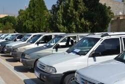 کشف ۵ دستگاه خودروی سرقتی توسط پلیس کرمانشاه