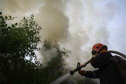 آتش سوزی در آسایشگاه معلولین رشت/ حال مددجویان خوب است