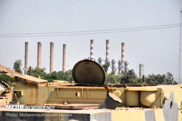 باغ موزه دفاع مقدس و صنعت نفت آبادان