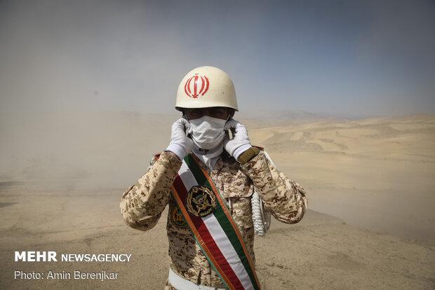 رزمایش ثامن الائمه 99 در منطقه سیاخ درنگون استان فارس