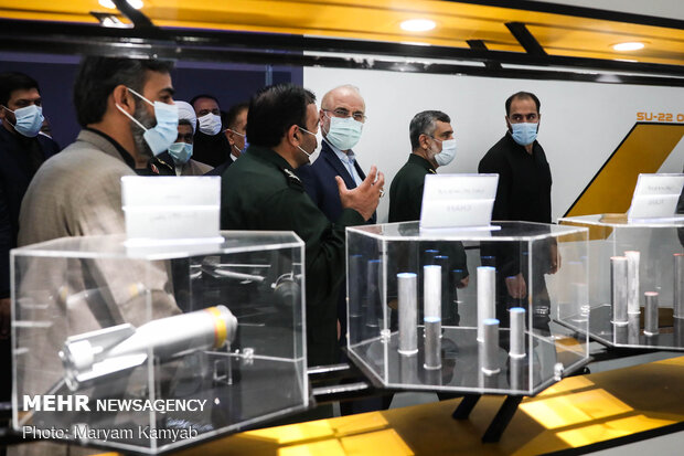 افتتاح IRGC inaugurates 'National Aerospace Park' in Tehran هوافضای سپاه