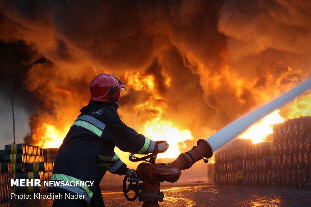 ارزش ۵ هزار میلیارد تومانی ایستگاه های آتش نشانی