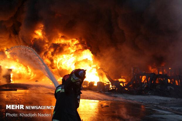 ایستگاههای آتشنشانی شهرستان تنگستان تجهیز میشوند