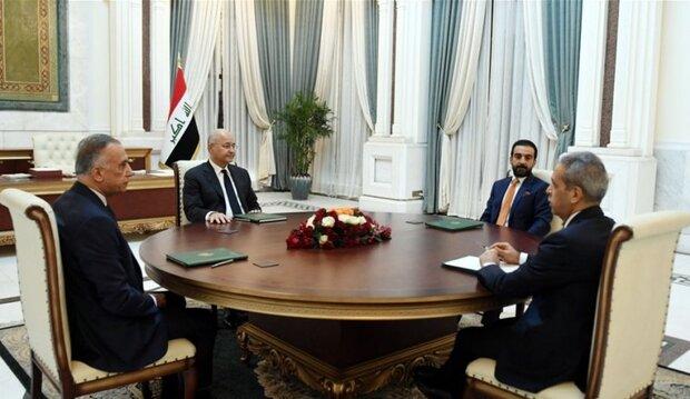 الرئاسات العراقية الثلاثة تؤكد ضرورة حماية البعثات الدبلوماسية